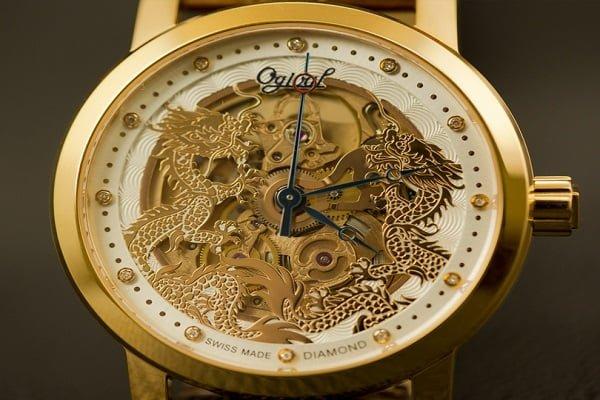 Ogival 18k gold