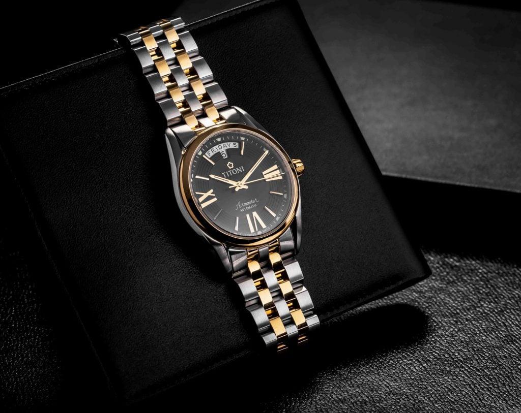 bộ sưu tập đồng hồ titoni