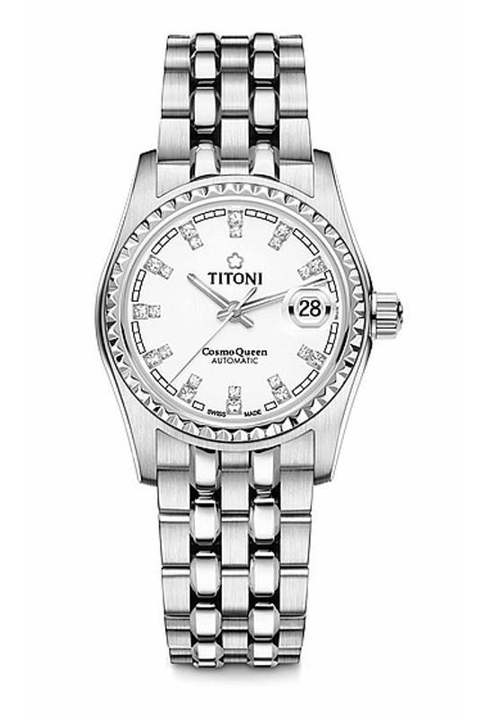 Titoni - Cosmo Queen Đồng Hồ Nữ Automatic ETA 2671 - 728S307 1