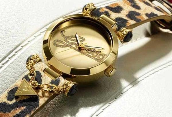 Điểm qua 3 mẫu đồng hồ Guess da beo ấn tượng