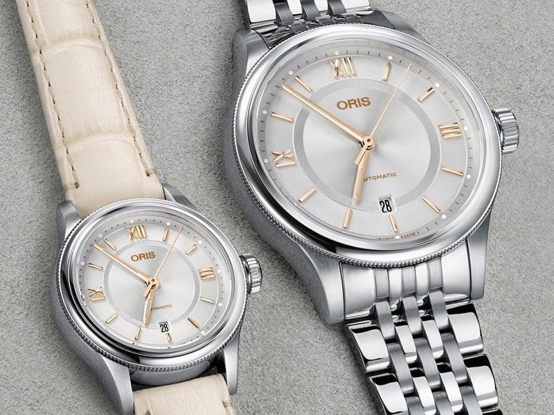 đồng hồ oris classic date 3