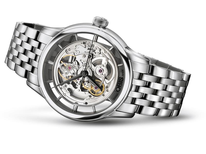 Về vật liệu của đồng hồ Oris