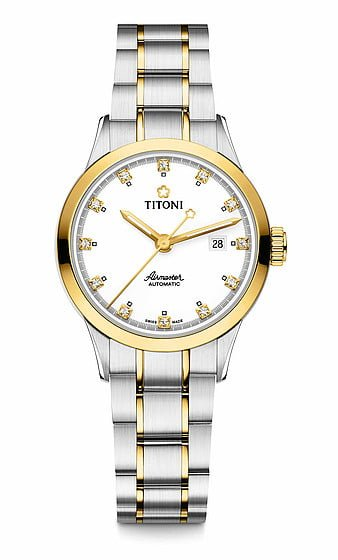 Titoni - Air Master Đồng Hồ Nữ Automatic ETA 2671 - 23733SY556 1