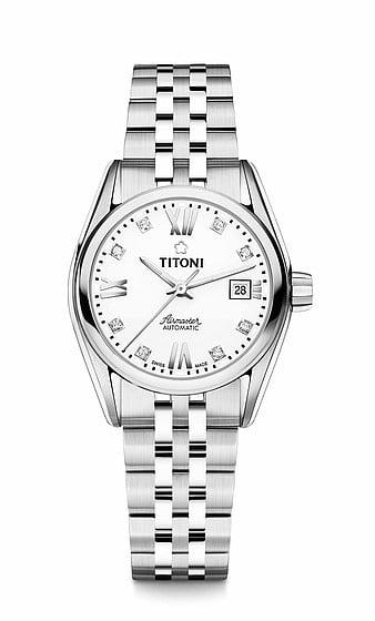 Titoni - Air Master Đồng Hồ Nữ Automatic ETA 2671 - 23909S063 1