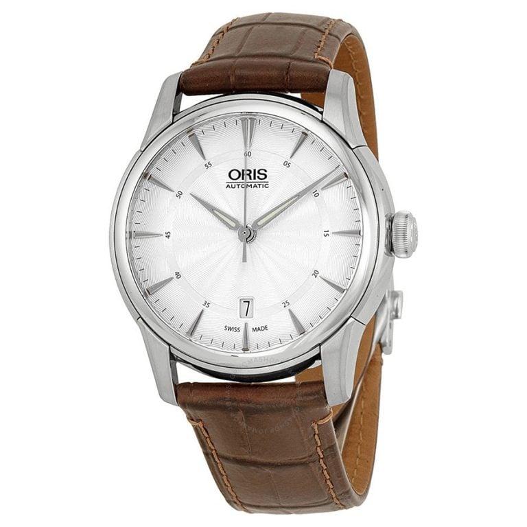 Oris - Artelier Date Đồng Hồ Nam Automatic - 01-733-7670-4051-0752170FC-1308 1