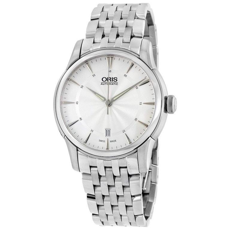 Oris - Artelier Date Đồng Hồ Nam Automatic - 01-733-7670-4051-0782177-1104 1