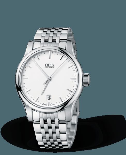 Oris - Classic Date Đồng Hồ Nữ Automatic - 01-733-7578-4051-0781861-3056370--803 1