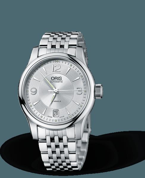 Oris - Classic Date Đồng Hồ Nam Automatic - 01-733-7578-4061-81861-2656457-317 1