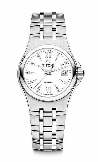 Titoni - Impetus Đồng Hồ Nữ Automatic ETA 2671 - 23730S271 1
