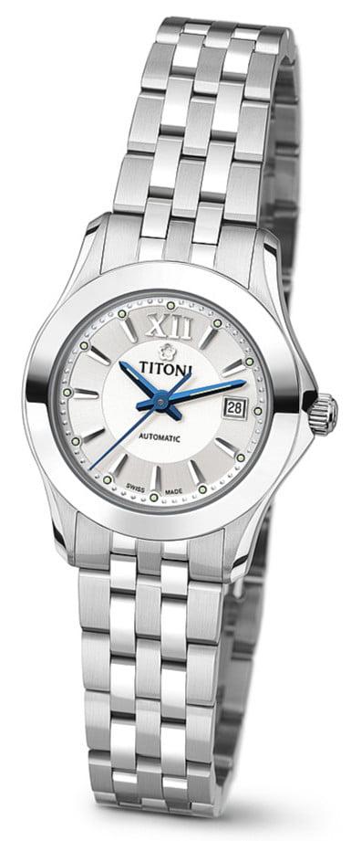 Titoni - Impetus Đồng Hồ Nữ Automatic ETA 2671 - 23929S316 1