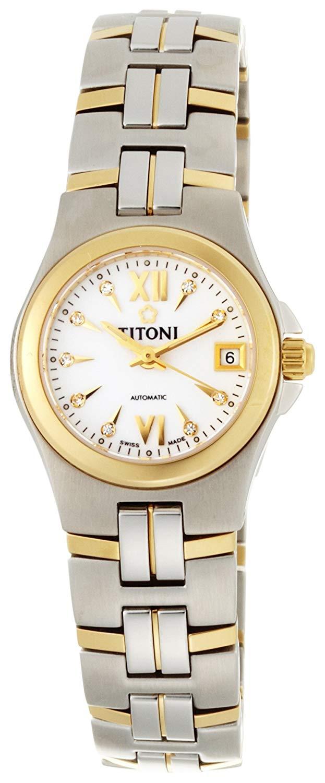 Titoni - Impetus Đồng Hồ Nữ Automatic ETA 2671 - 23950SY271 1