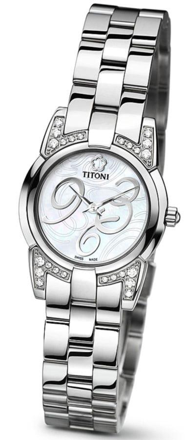 Titoni - Mademoiselle By Titoni Đồng Hồ Nữ Quartz ETA 956.032 - TQ42922SDH359 1