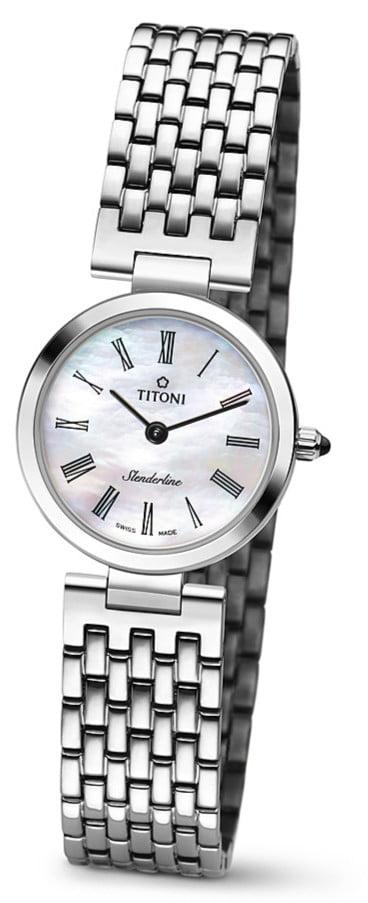 Titoni - Mademoiselle By Titoni Đồng Hồ Nữ Quartz ETA 956.032 - TQ42926S340 1