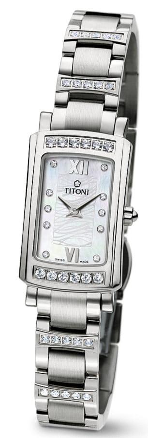 Titoni - Mademoiselle By Titoni Đồng Hồ Nữ Quartz ETA 956.032 - TQ42931SDBB145 1