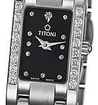 Titoni - Mademoiselle By Titoni Đồng Hồ Nữ Quartz ETA 956.032 - TQ42953SDBB142