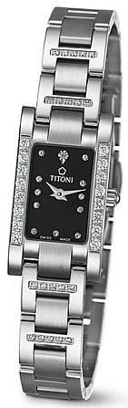 Titoni - Mademoiselle By Titoni Đồng Hồ Nữ Quartz ETA 956.032 - TQ42953SDBB142 1