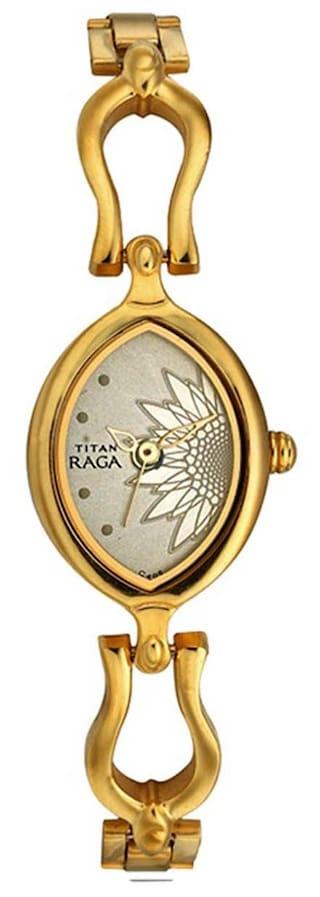 Titan - Raga Đồng Hồ Nữ Quartz - 2370YM05-3376 1