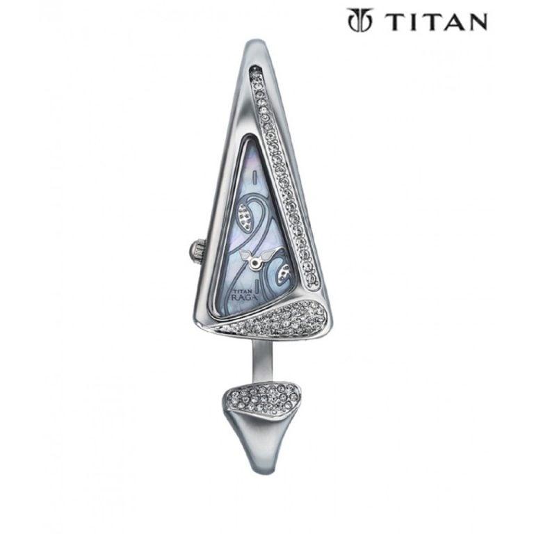 Titan - Raga Đồng Hồ Nữ Quartz - 9763SM01-3526 1