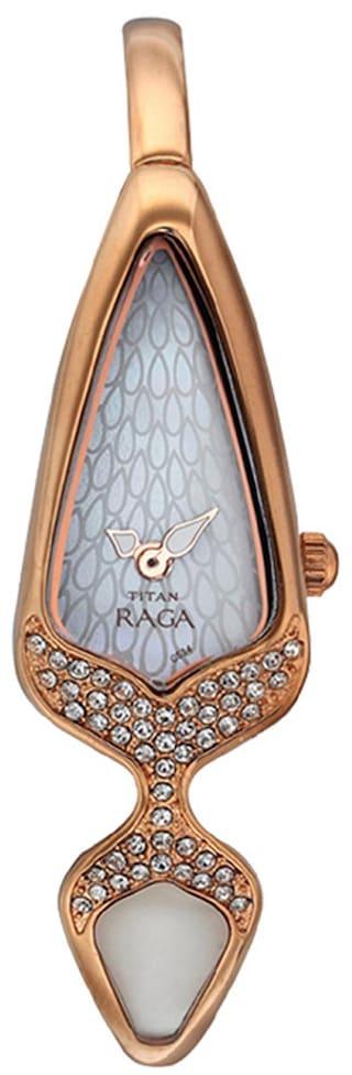 Titan - Raga Đồng Hồ Nữ Quartz - 9769WM01-2608 1