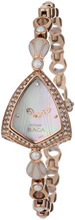 Titan - Raga Đồng Hồ Nữ Quartz - 9811WM01-3547 1