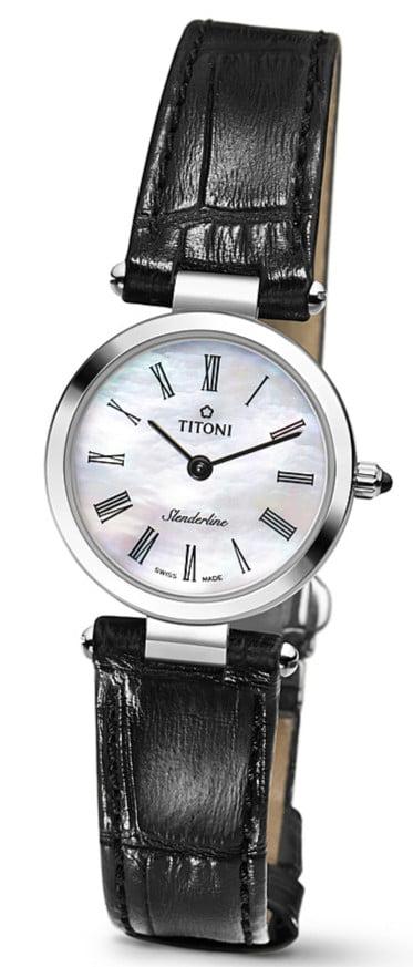 Titoni - Slenderline Đồng Hồ Nữ Quartz ETA 956.032 - TQ42926SST340 1
