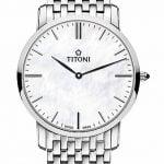 Titoni - Slenderline Đồng Hồ Nam Quartz ETA 956.032 - TQ52918S587
