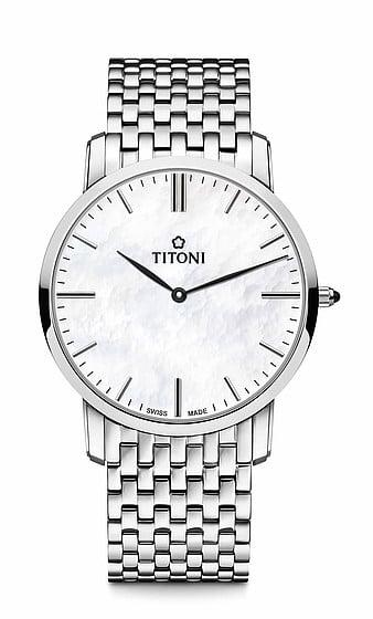 Titoni - Slenderline Đồng Hồ Nam Quartz ETA 956.032 - TQ52918S587 1