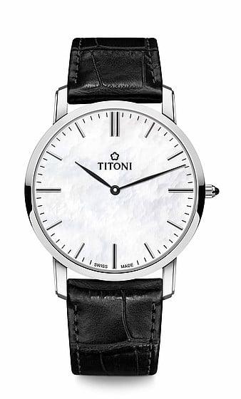 Titoni - Slenderline Đồng Hồ Nam Quartz ETA 956.032 - TQ52918SST587 1