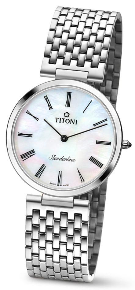 Titoni - Slenderline Đồng Hồ Nam Quartz ETA 956.032 - TQ52926S340 1