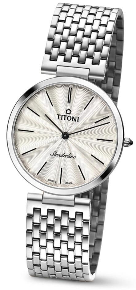 Titoni - Slenderline Đồng Hồ Nam Quartz ETA 956.032 - TQ52926S341 1
