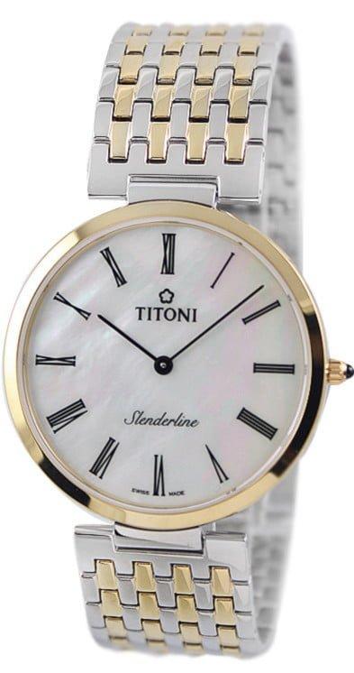 Titoni - Slenderline Đồng Hồ Nam Quartz ETA 956.032 - TQ52926SY340 1