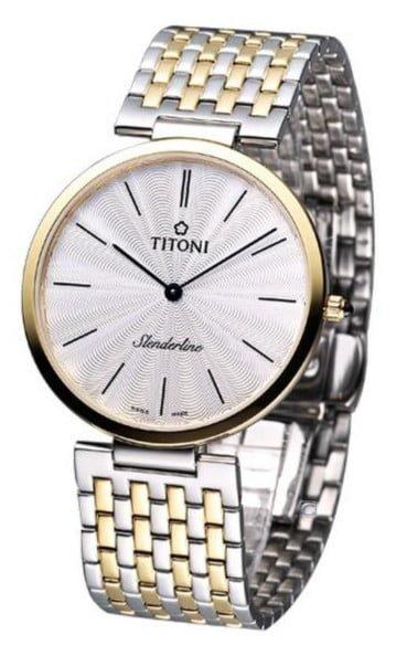 Titoni - Slenderline Đồng Hồ Nam Quartz ETA 956.032 - TQ52926SY341 1
