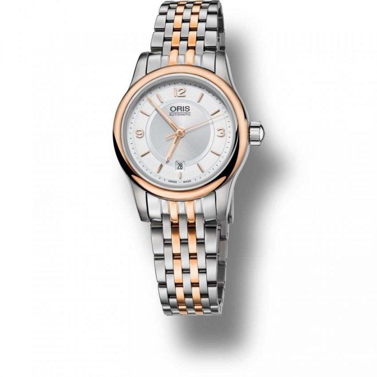 Oris - classic date Đồng Hồ Nữ Automatic - 01561765043310781463-961 1