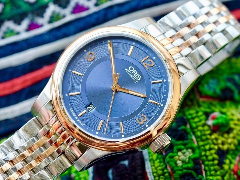Đồng hồ Oris Artix Date Blue