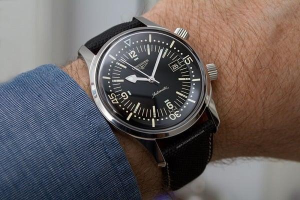 Longines Heritage Diver – Cảm hứng từ những chiếc đồng hồ thời đầu thế kỷ 20 2