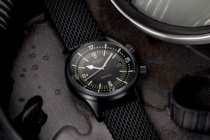 Longines Heritage Diver – Cảm hứng từ những chiếc đồng hồ thời đầu thế kỷ 20 1