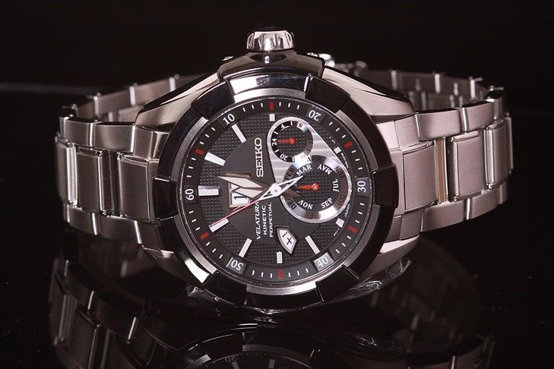Điểm nhấn trên chiếc đồng hồ Seiko Velatura 5